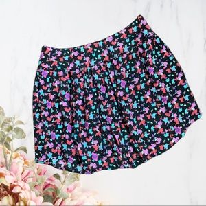 Silence and Noise   Multi Color Zip Skirt